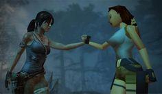 Tomb Raider (2013) vs Tomb Raider (1996)