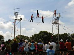 Head over to The Guilford Fair and watch the impressive Flying Wallendas walk the tightropes (Guilford) (Sept. 20-22)