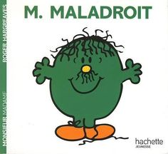 Livre MONSIEUR MADAME : Monsieur Maladroit  Roger Hargreaves