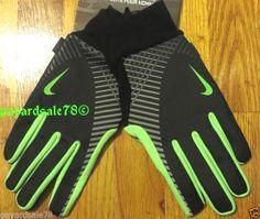 MEN'S SIZE XL NIKE ELITE STORM FIT TECH RUNNING GLOVES KEY POCKET #Nike #AthleticGloves