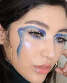 Inspo for this (swipe) came from these Emilio Pucci boots. I hope you guys have a beautiful and SAFE night! Cool Makeup Looks, Crazy Makeup, Cute Makeup, Pretty Makeup, Edgy Makeup, Eye Makeup Art, Makeup Inspo, Makeup Inspiration, Gothic Makeup