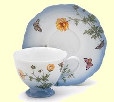 Petite Fleur  Tea Cup and Saucer