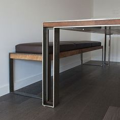 CHARLES TABLE + BENCH
