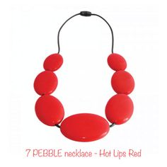 Nibbly Bits 7 Pebble Necklace was designed for mums who want that extra look of sophistication – without fear that their little one would be at risk!   http://www.smallsmallworld.com/estore/pebble-necklace-p-575.html
