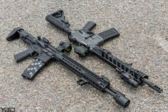 Pair of San Tan Tactical builds from YoungBuckDave with our Hexmag Magazines to start the week off!