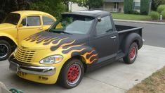 A nice chopped up PT Cruiser