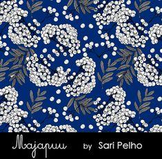 Pihlajanmarjat - Majapuu 24,90e/m Knitted Fabric, Sari, Sewing, Knitting, Saree, Dressmaking, Couture, Tricot, Fabric Sewing