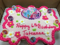my little pony pull apart cakeGiant rainbow Added picture of