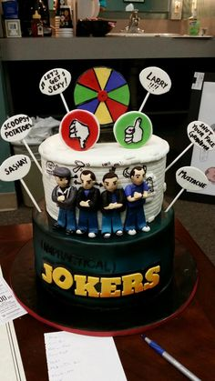 I love the Impractical Jokers cake