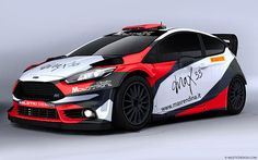 MAX 33 FORD FIESTA R5 - LIVERY DESIGN COMPETITION.
