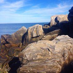Black Rock, Prout's Neck, Maine, August, 2014