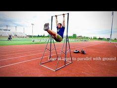 Pole Vault Drills   High Bar Progressions to Invert - YouTube