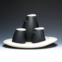 Tea Set by Goyer-Bonneau, via Crimson Laurel Gallery