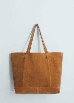 f198737700 Shopper δερμάτινη τσάντα - Γυναίκα