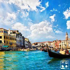 Um destino clássico é sempre uma boa pedida, por isso, trazemos nesta manhã de terça-feira uma foto inspiradora de Veneza.  E aí, inspirados?