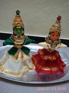 Thali Decoration Ideas, Diwali Decorations, Basket Decoration, Festival Decorations, Flower Decorations, Decor Ideas, Coconut Decoration, Fruit Crafts, Pooja Room Design