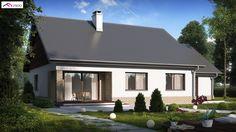 Z131 to wyjątkowy dom z kategorii projekty domów tanich w budowie Building A House, Shed, Outdoor Structures, Outdoor Decor, Home Decor, Pools, Image, Tiny Houses, Build House