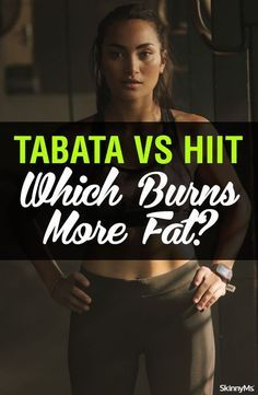 Ever since Tabata-style training came to the scene, there's been the question of how it differs from HIIT. In this post, we're going to explain and compare, Tabata vs HIIT so that you can get a better understanding! Fat Burning Cardio, Fat Burning Drinks, Hiit Benefits, What Is Hiit, Build Muscle Mass, Lose Weight, Weight Loss, High Intensity Interval Training, Burn Calories