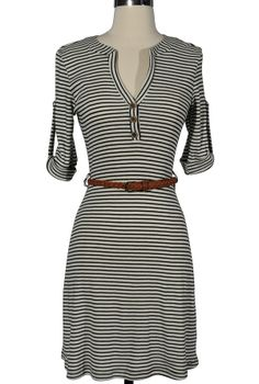 Shirt dress. Looks so cute and comfy!