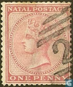 1874  Natal - Queen Victoria Cape Colony, Crown Colony, Victoria 1, Queen Victoria, Union Of South Africa, Kwazulu Natal, West Africa, Commonwealth, Postage Stamps