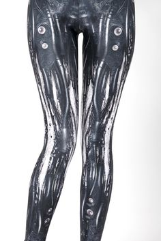 Mechanical Leggings. These are the closest things I could ever hope to have to getting myself some mechanical legs!