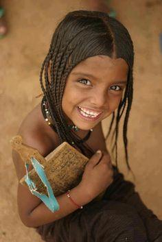 Africa | A young girl from Azawak Valley. Niger. | ©Amman Imman/Ariane Kirtley