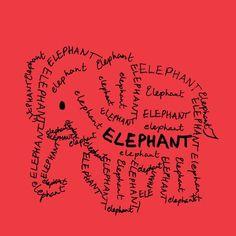 Elephant custom fabric by blue_jacaranda for sale on Spoonflower Image Elephant, Elephant Gun, Elephant World, Elephant Love, Elephant Tattoos, Elephant Quotes, Elephants Never Forget, Delta Girl, Elephant Pictures