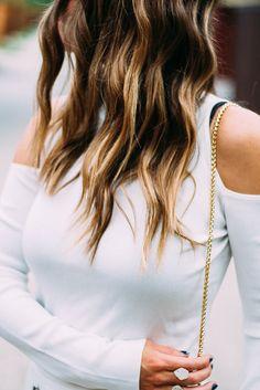 white cold-shoulder top- www.thefashionhour.com - The Fashion Hour Blog