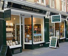london watkins bookstore | Watkins Bookshop - outside