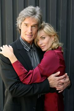 Ridge Forrester, Eileen Davidson, Soap Opera Stars, Tv Couples, Bold And The Beautiful, Days Of Our Lives, Ronn Moss, Movies And Tv Shows, Movie Tv