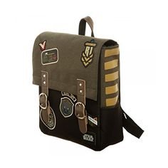 d2eb5c0e0f3 Amazon.com  Bioworld Men s Star Wars Rogue One Rebel Mini Backpack, Tan   Clothing