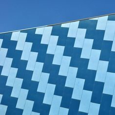 Inspiration in the form of the external wall of the Federation Concert Hall in Hobart. Concert Hall, Tasmania, Skyscraper, Colour, Architecture, Wall, Instagram Posts, Pattern, Inspiration