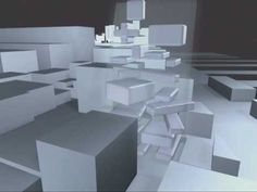 MVRDV Media Galaxy, New York, 2001 (animation Wieland & Gouwens)