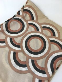 A personal favorite from my Etsy shop https://www.etsy.com/listing/538341356/vera-neumann-duvet-geometric-circles