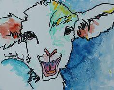 Gertie Print by Susan Davies