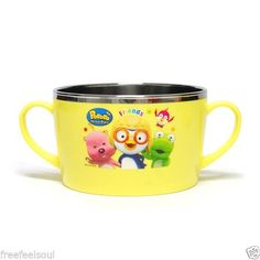LILFANT Housewares Household Articles - Pororo Stainless Bowl (Big Size)