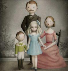 Familia por Nicoletta Ceccoli