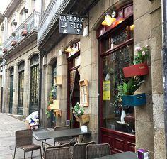Resultado de imagen de cafe bar la flor santiago