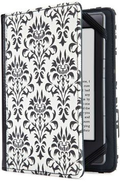 Verso Versailles Cover for Kindle, Black/White (fits Kindle Paperwhite, Kindle, and Kindle Touch) | The Best Products Of Amazon