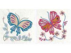 Jacobean Butterflies Machine Embroidery Designs  http://www.designsbysick.com/details/jacobeanbutterflies