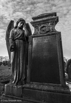 St. Helens Cemetery, Lancashire, England. November 2014.