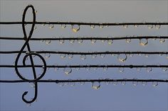 There is nothing like beautiful music combined with rain...the tapping of raindrops on the window...