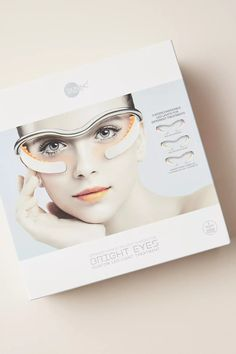 What It Is: This easy-to-use, at-home facial device harnesses the power of NASA-inspired LED chromatherapy to deliver three treatments for the delicate eye area in a quick, 10-minute session. Hair Essentials, Online Tutorials, Skin Food, Bright Eyes, Light Orange, Dark Circles, Facial, Skin Care, Glasses
