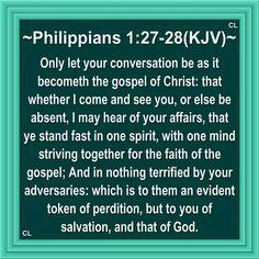 Philippians 1:27-28