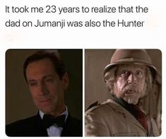 Well jumanji was deeper than I realized