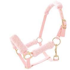 When I get horses again...I want this fuzzy halter. <3