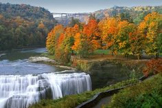 Letchworth State Park in Upstate New York is the one of the most beautiful parks in the US.