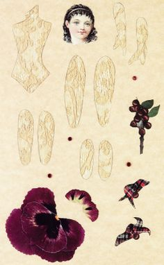 inkspired musings: The Language of Flowers - Pansy..goes with flower fairy