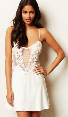 delicate sheer chemise #anthrofave  http://rstyle.me/n/rwebvpdpe