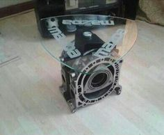 Awesome Nice Coffee Table   Mazda Rotary Engine Engine Table, Engine Coffee Table,  Cool Coffee